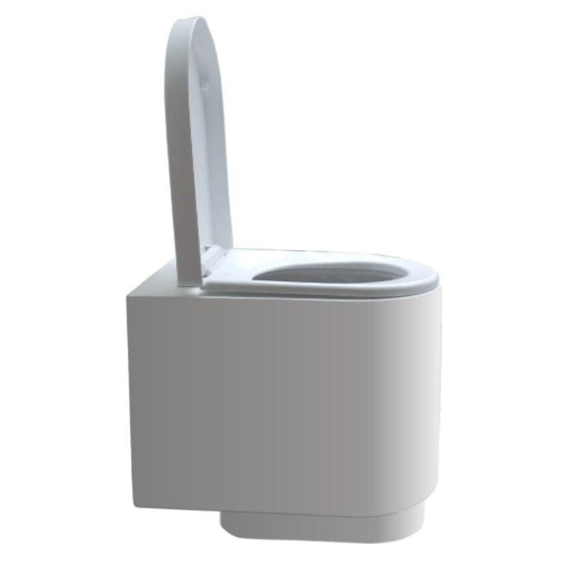 Taza madera WCEco® para cámara sin separación de líquidos